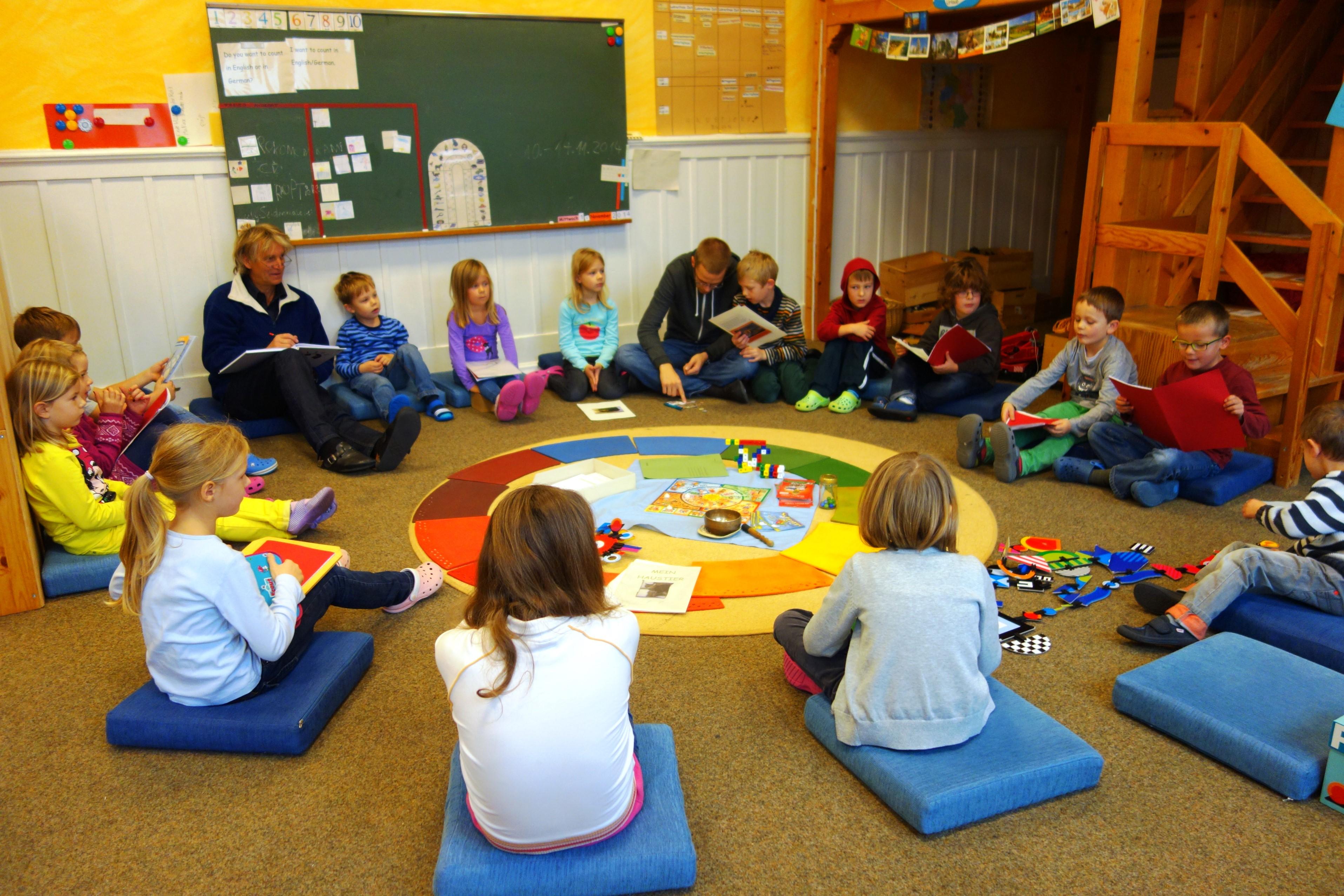 Sitzkreis grundschule  Nachrichten - Freie Schule Seligenstadt