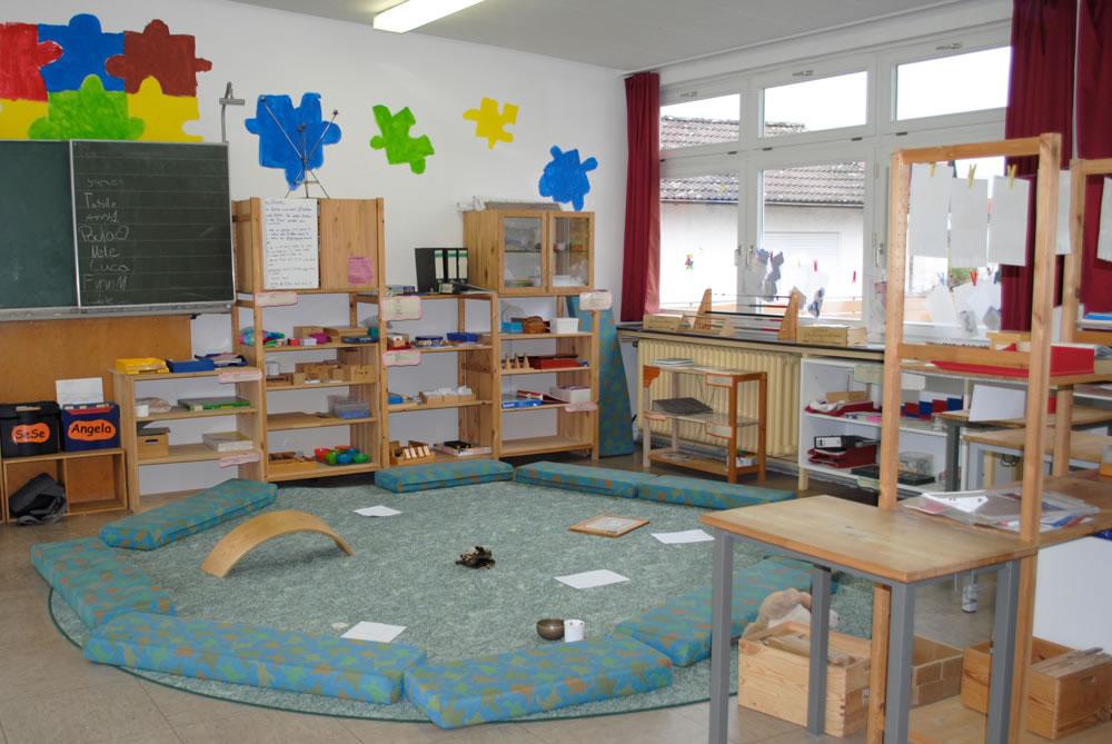 Sitzkreis grundschule  Schulrundgang - Freie Schule Seligenstadt